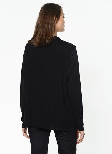 Asymmetry Hırka Siyah